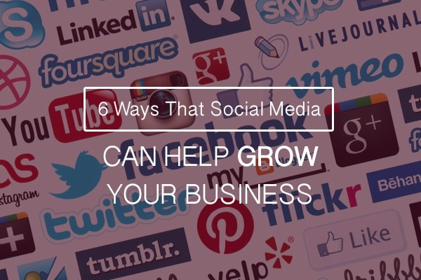 Social Media Can Help Grow Your Business