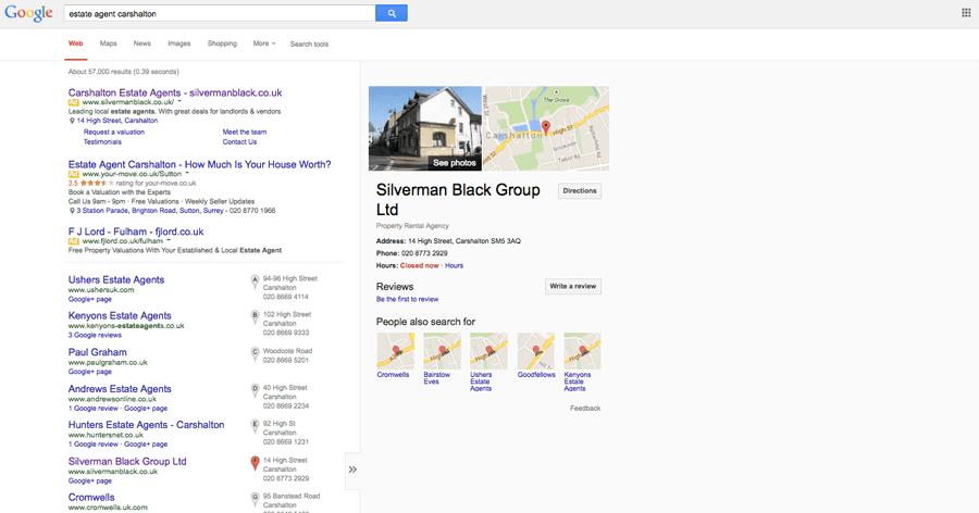 Silverman Black Google