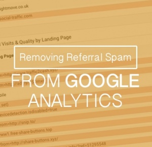 Removing Referral Spam From Google Analytics