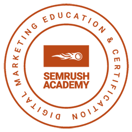SEMrush Certification Badge