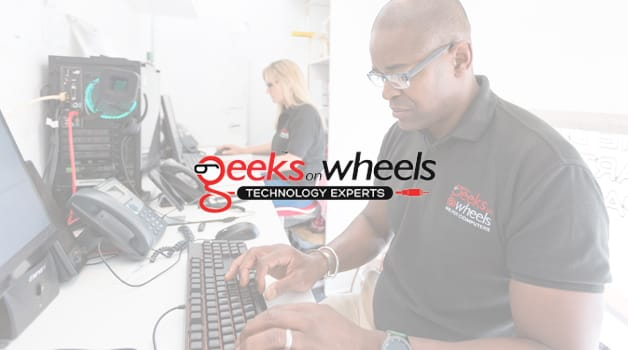Geeks On Wheels employees working