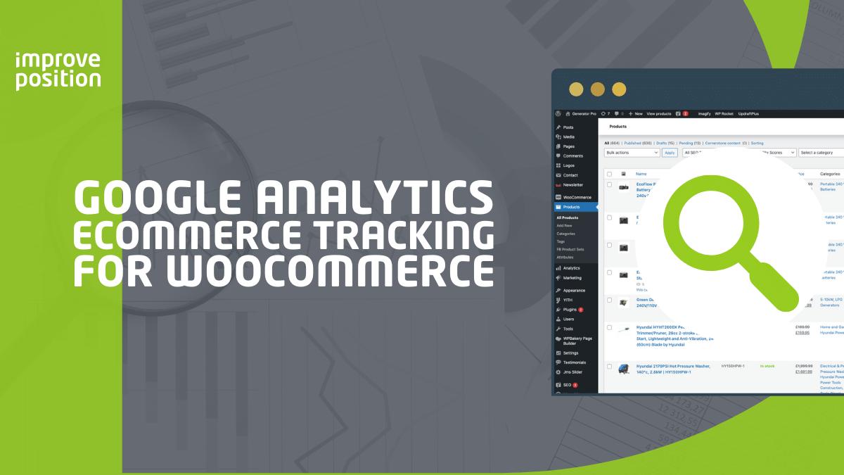 Google Analytics eCommerce Tracking For WooCommerce